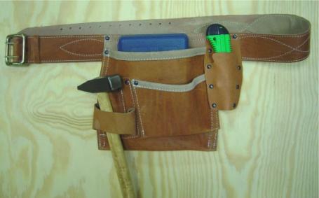 Сделать своими руками пояс для инструмента 10